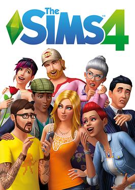 The Sims 4 Box Art