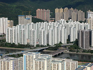 Hong Kong private housing estate