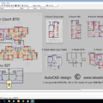 HDB floor plans > AutoCAD .DWG