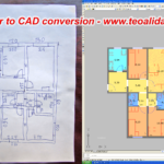Paper to CAD drawing conversion services