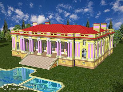 """Palatul Cantacuzino """"Micul Trianon"""" din Floreşti Prahova"""