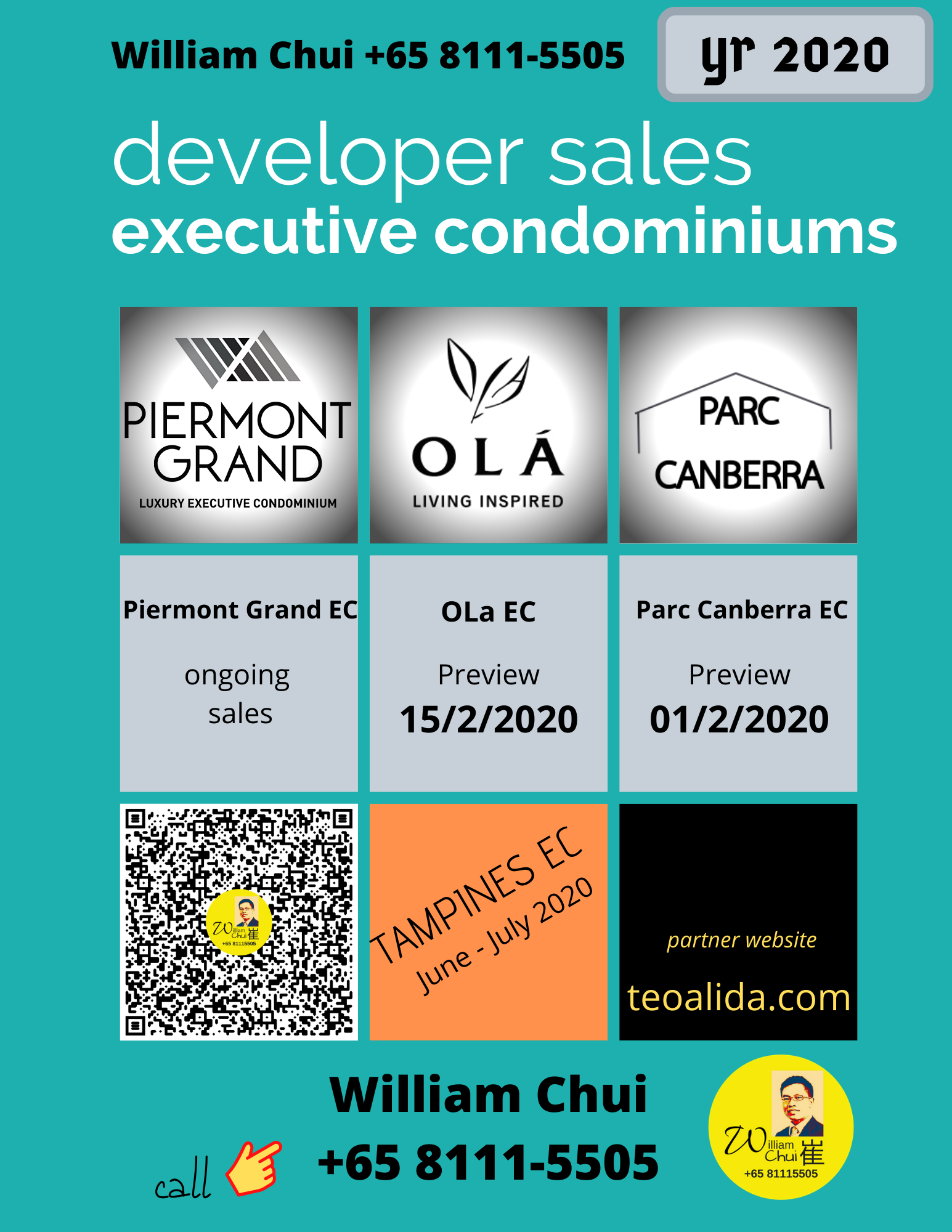 Executive Condominium developer sales