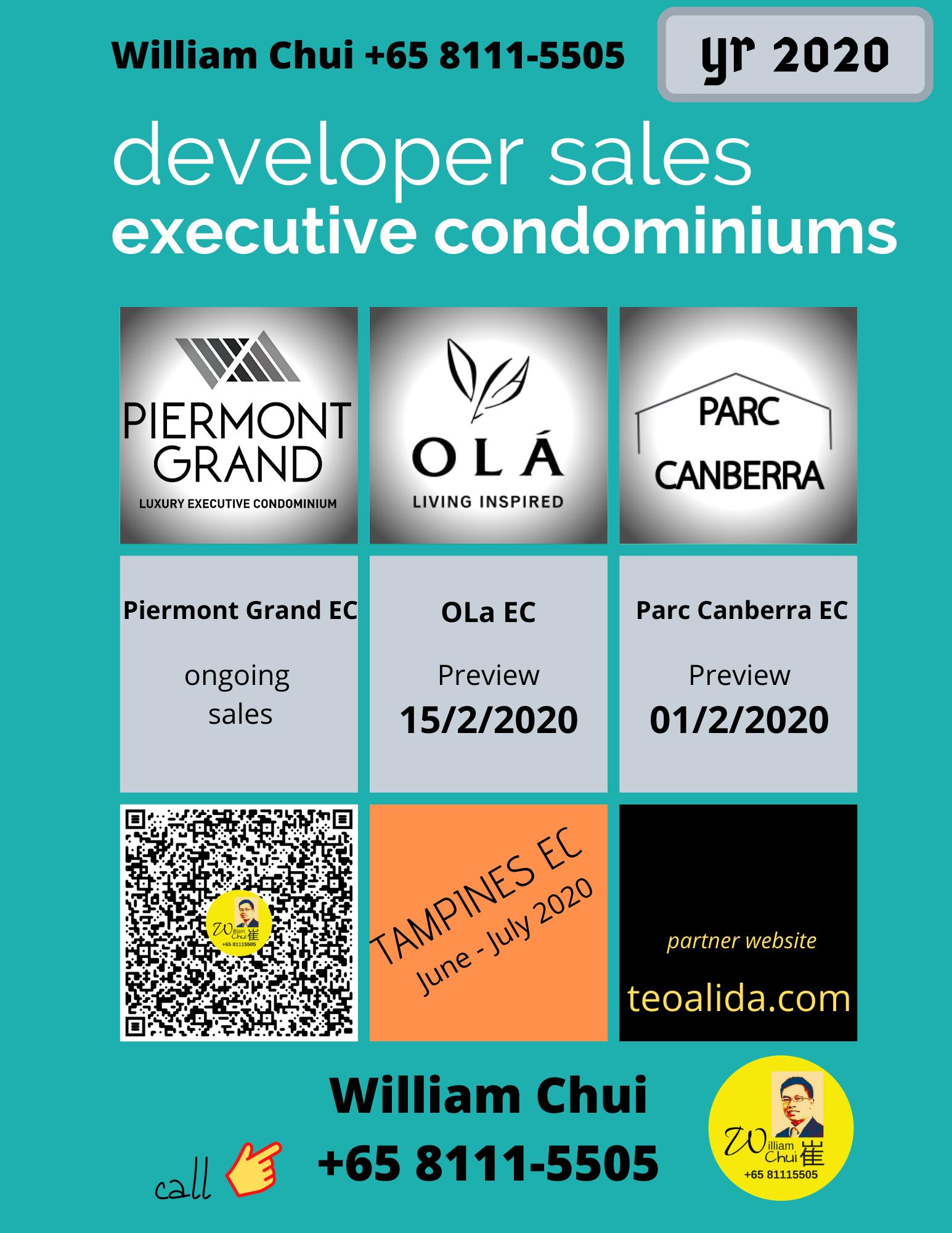 Executive Condominium developer sales