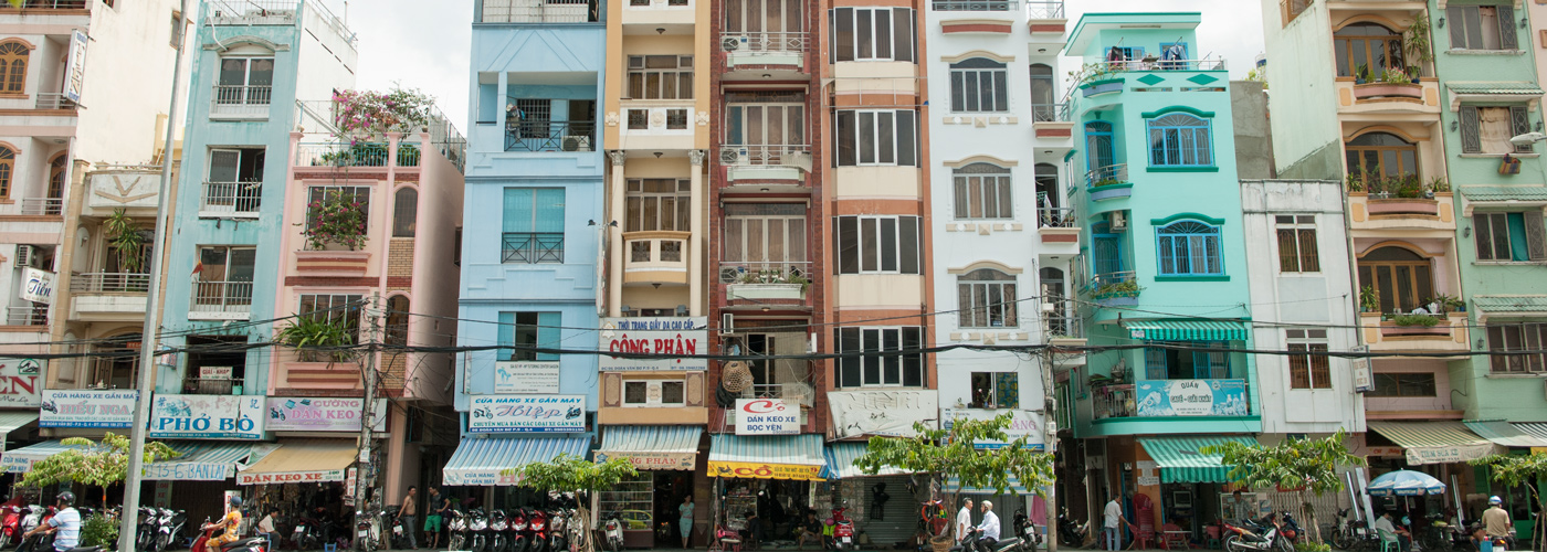 Ho Chi Minh City houses