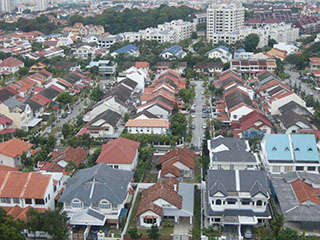 Kenbangan landed housing area