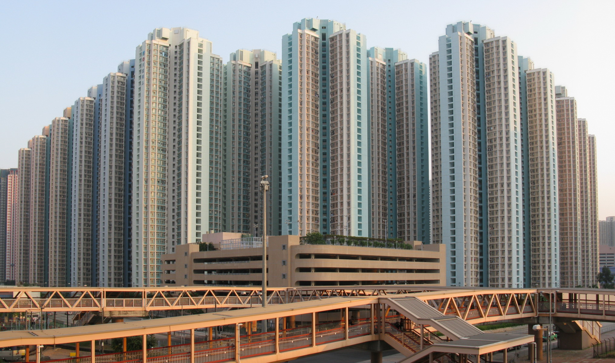 Celestial Heights Tin Fu Court More Photos With New Buildings On Hong Kong Private Housing