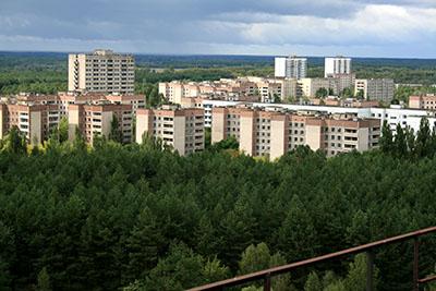 Pripyat, Chernobyl abandoned town