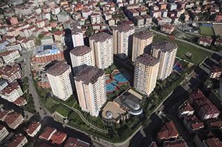 Modern condominium in Turkey