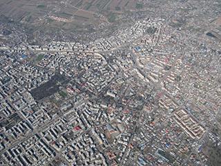 Botosani, aerial view