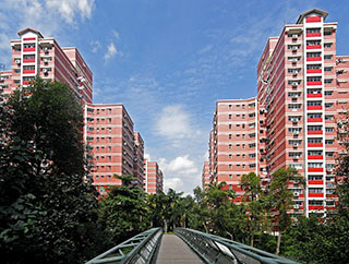 Pasir Ris blocks 601-615 (built 1995-1996)