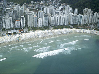 Guarujá waterfront