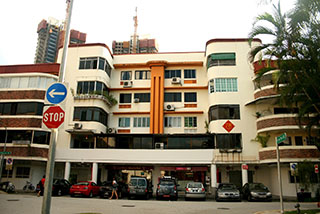 Tiong Bahru pre-war SIT blocks