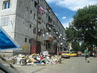 Ferentari, low-end public housing