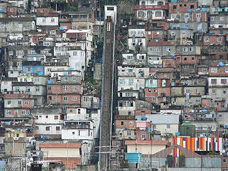 favela between Copacabana and Ipatema