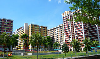 Bukit Panjang blocks 418, 419, 420 (built 1989)