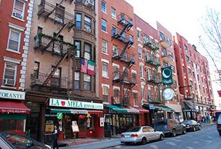East Lower Manhattan Tenements