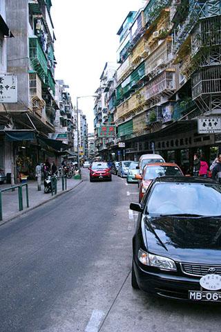 Urban canyons, Macau
