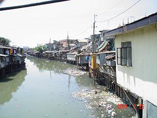 Pasay City slums