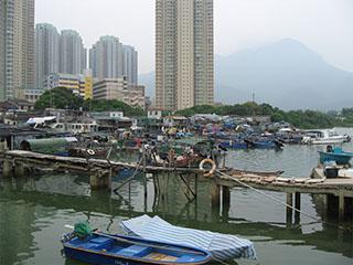Lantau Island village