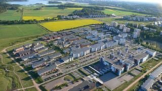 Viikki, aerial view