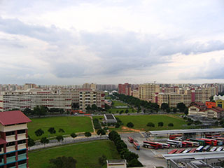 Hougang New Town (built ~1989)