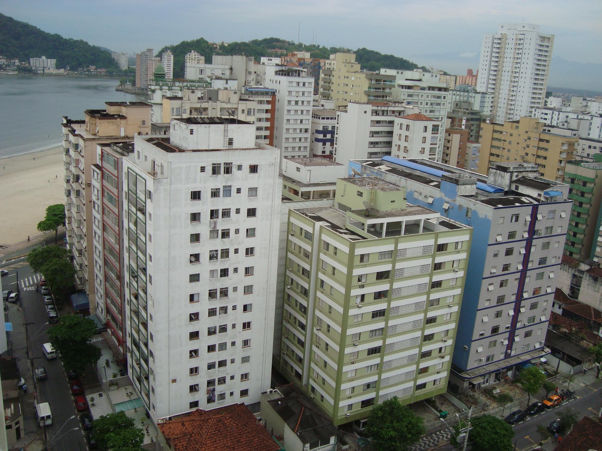 Urban density, São Vicente