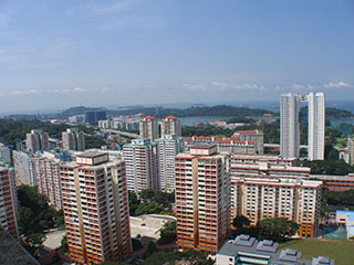 Telok Blangah view from Mount Faber