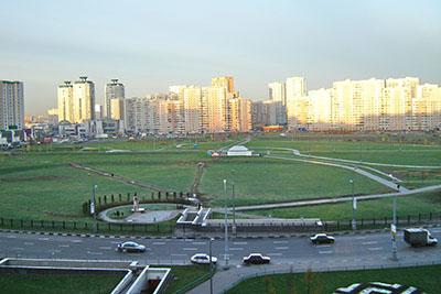 Moskow apartment blocks