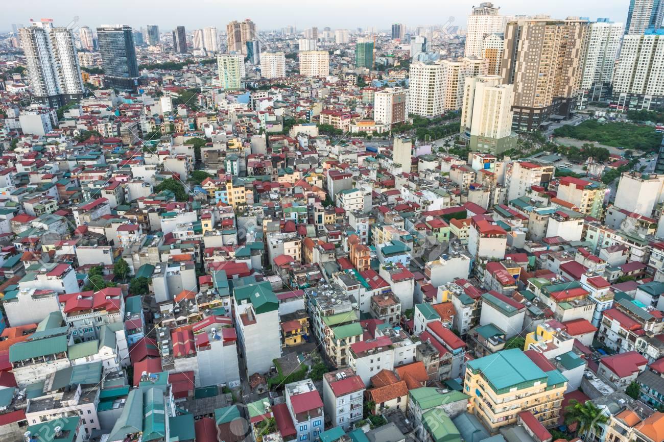 Hanoi aerial view